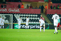 Football - 2016 / 2017 Premier League - Swansea City vs. AFC Bournemouth<br /> <br /> Swansea look down after Bournemouth score their 3rd ---, at the Liberty Stadium.<br /> <br /> COLORSPORT/WINSTON BYNORTH
