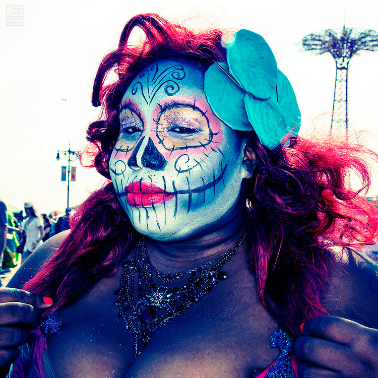 Mermaids at Coney Island Brooklyn New York Mermaid Parade 2013