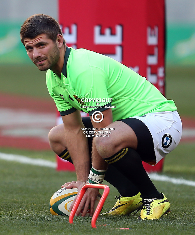 PORT ELIZABETH, SOUTH AFRICA - JUNE 28: Willie le Roux of South Africa during the Incoming Tour match between South Africa and Scotland at Nelson Mandela Bay Stadium on June 28, 2014 in Port Elizabeth, South Africa. (Photo by Steve Haag/Gallo Images)