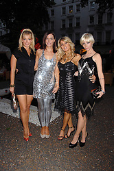 Left to right, LIZ FULLER, LINZI STOPPARD, HOFIT GOLAN and CHARLOTTE DUTTON at a party to celebrate Le Touessrok a luxury resort in Mauritius, held at The Hempel, 31-35 Craven Hill Gardens, London W2 on 12th June 2007.<br />