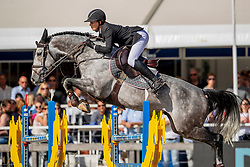 Emmen Kim, NED, Indian Gold<br /> FEI WBFSH Jumping World Breeding Championship for young horses Zangersheide Lanaken 2019<br /> © Hippo Foto - Dirk Caremans