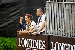 Fonck Bernard and Ann, BEL<br /> World Equestrian Games - Tryon 2018<br /> © Hippo Foto - Dirk Caremans<br /> 12/09/2018