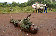Kibumba, Congo.<br />