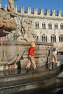 Trento Città piazza Duomo, centro storico  © foto Daniele Mosna