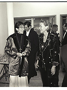 GHISLAINE MAXWELL, INDIA HICKS,  NY Academy of Art benefit. Manhattan 1995