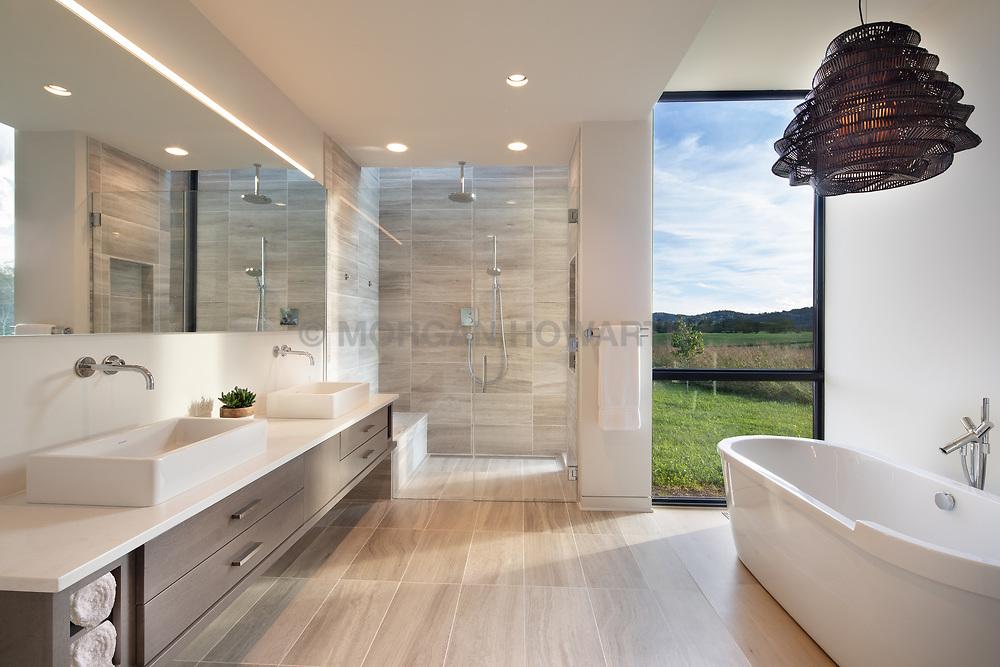 98 Lyle Modern Home master bathroom VA 2-174-303