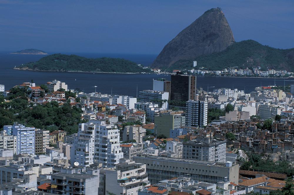 View over Flamengo,  Rio de Janeiro, Brazil