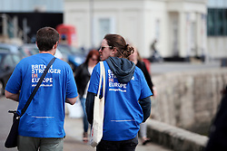 UK ENGLAND MARGATE 14MAY16 - Vote Remain campaign volunteers walk through Margate city centre, Kent, England.<br /> <br /> jre/Photo by Jiri Rezac<br /> <br /> © Jiri Rezac 2016
