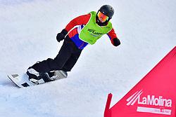 MOEN Kristian, SB-LL1, NOR, Snowboard Cross at the WPSB_2019 Para Snowboard World Cup, La Molina, Spain