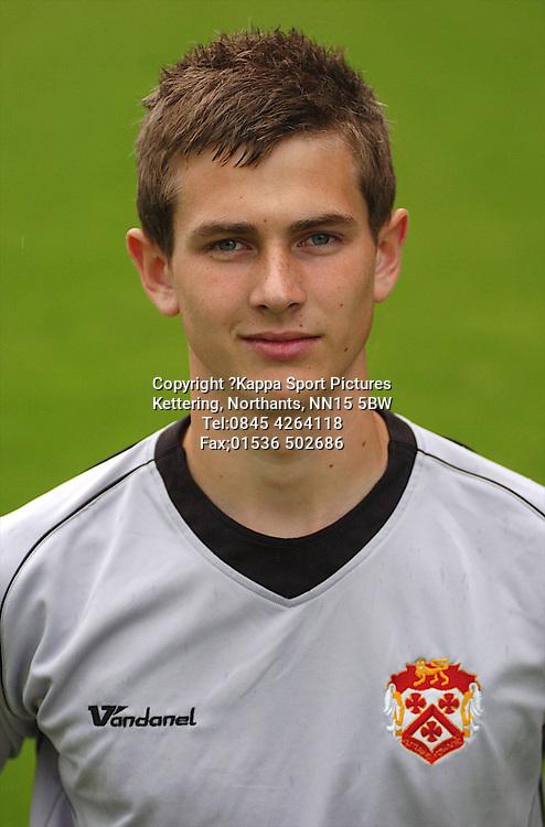 NIALL COOPER, GOALKEEPER, KETTERING TOWN, 09/10, Pen Pics, Kettering Town FC, Season 2009/10