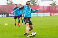ALKMAAR - 27-07-2016, laatste training AZ voor Europese wedstrijd tegen Pas Giannina , AFAS Stadion,