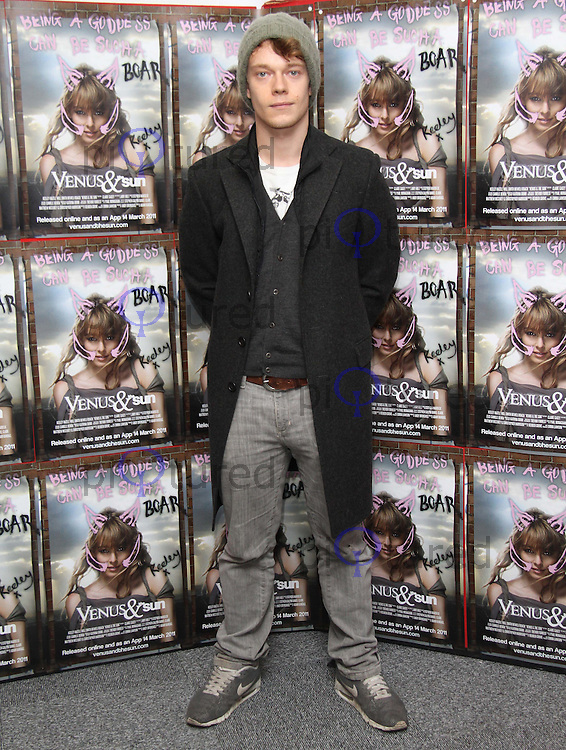 Alfie Allen Venus & The Sun Premiere, First ever release to mobile phone App, Online and DVD. Rich Mix Cinema, Bethnal Green, London, UK, 10 March 2011:  Contact: Ian@Piqtured.com +44(0)791 626 2580 (Picture by Richard Goldschmidt)