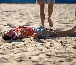 25-08-2019 NED: DELA NK Beach Volleyball, Scheveningen<br /> Last day NK Beachvolleyball / Dirk Boehlé #1