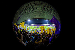 View on the field during football match between NK Maribor and Sevilla FC (ESP) in 1st Leg of Round of 32 of UEFA Europa League 2014 on February 20, 2014 at Stadium Ljudski vrt, Maribor, Slovenia. Photo by Matic Klansek Velej / Sportida