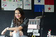 Mariel Garcia. Panameña Licenciada en Produccion de Radio y Televisión.©Victoria Murillo/Istmophoto.com