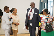 Established in the year 1893, the city's first African-American high school, Booker T. Washington HS, opens its doors to an upgraded school building, ready for 2018-2019 schoolyear year. May 10, 2018