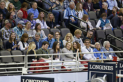 Canadian supporters<br /> Longines FEI World Cup Jumping Final III, Omaha 2017 <br /> © Hippo Foto - Dirk Caremans<br /> 02/04/2017