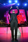 LAS VEGAS, NV - DECEMBER 28:  Singer Pitbull performs during his New Year's Eve weekend concert series at The Pearl concert theatre at the Palms Casino Resort on December 28, 2012 in Las Vegas, Nevada.  (Photo by Jeff Bottari/WireImage)