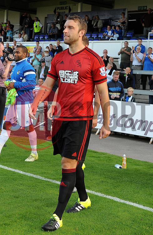 Rickie Lambert of West Brom - Mandatory by-line: Neil Brookman/JMP - 07966386802 - 31/07/2015 - SPORT - FOOTBALL - Bristol,England - Memorial Stadium - Bristol Rovers v West Brom - Pre-Season Friendly