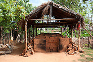 Brick kiln near Belic, Granma, Cuba.