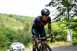 Tiffany Cromwell (CANYON//SRAM Racing) taking on the hilly time trial at Giro Rosa 2016 - Stage 7. A 21.9 km individual time trial from Albisola to Varazze, Italy on July 8th 2016.