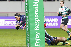December 8, 2017 - Paris, France, France - Essai de Alo Emile pour le Stade Francais (Credit Image: © Panoramic via ZUMA Press)