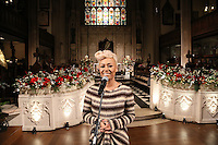 Emeli Sandé at The Nordoff-Robbins Carol Service 2012, St Luke's Church, Chelsea, London. Tuesday, Dec 18, 2012 (Photo/John Marshall JME)