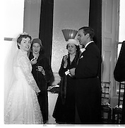 18/02/1957<br /> 02/18/1957<br /> 18 February 1957<br /> Wedding Dr K. Murphy and J. Fitzgerald at St. Mary's Church, Haddington Road and reception at Salthill Hotel, Monkstown.