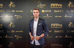 Zan Zuzek during SPINS XI Nogometna Gala 2019 event when presented best football players of Prva liga Telekom Slovenije in season 2018/19, on May 19, 2019 in Slovene National Theatre Opera and Ballet Ljubljana, Slovenia. ,Photo by Urban Meglic / Sportida