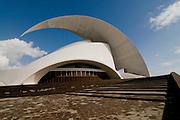 The opera at Santa Cruz de Teneriffa, Canary islands,Spain
