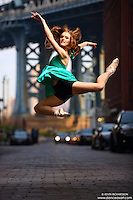 Dance As Art Streets of Dumbo Series with dancer Jenna MacVicar