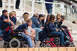 Supporter Team GBR - Individual Test Grade IV Para Dressage - Alltech FEI World Equestrian Games™ 2014 - Normandy, France.<br /> © Hippo Foto Team - Jon Stroud <br /> 25/06/14