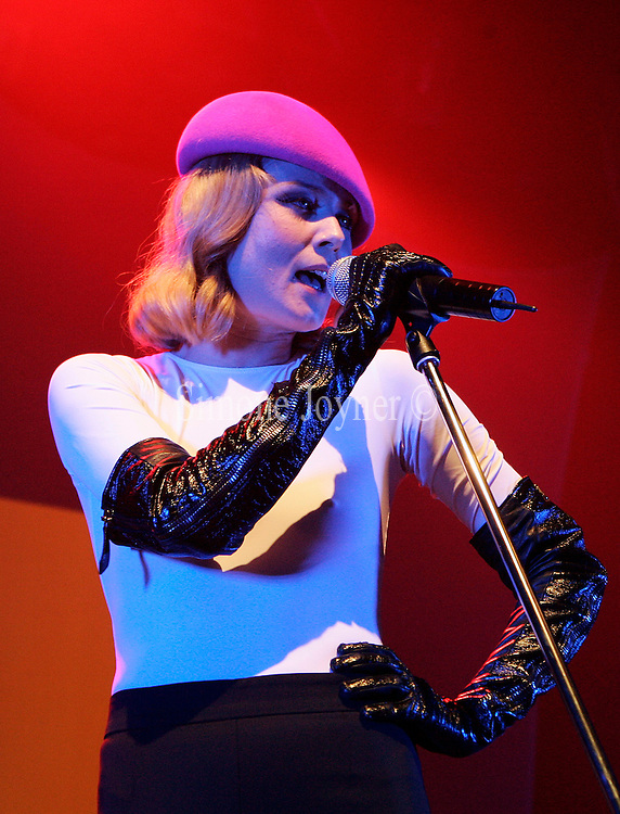 LONDON - NOVEMBER 27: Singer Roisin Murphy performs live on stage at KOKO in Camden Town on November 27, 2007 in London, England. (Photo by Simone Joyner/Getty Images) *** Local Caption *** Roisin Murphy