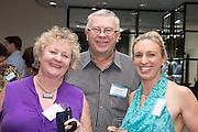 Bronwyn Russell, Philip Nayda & Verity Coonan. RLB 40th Birthday, Hilton. Photo Shane Eecen Creative Light Studios
