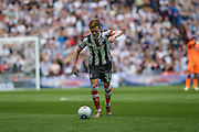 Grimsby Town's Jon Nolan during the Conference Premier Final match between Forest Green Rovers and Grimsby Town FC at Wembley Stadium, London, England on 15 May 2016. Photo by Shane Healey.