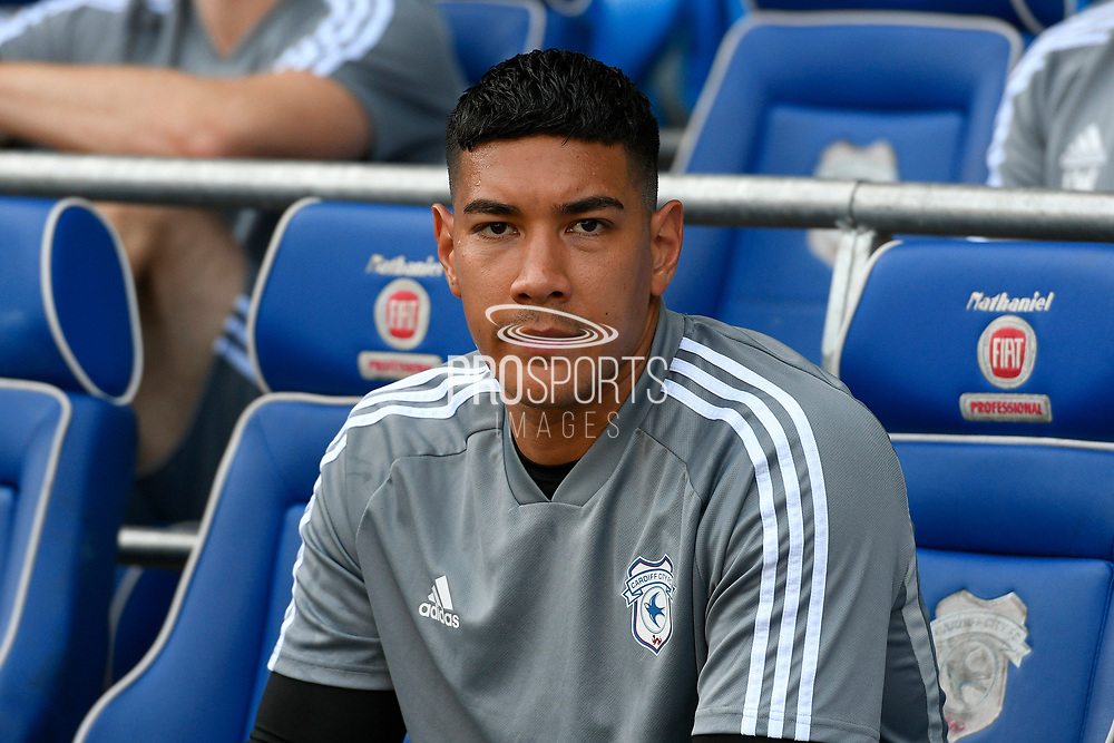 Neil Etheridge (1) of Cardiff City on the bench during the EFL Sky Bet Championship match between Cardiff City and Middlesbrough at the Cardiff City Stadium, Cardiff, Wales on 21 September 2019.