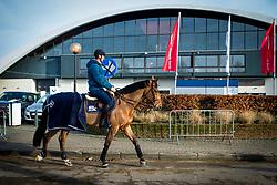 Deusser Daniel, GER, Kiana van het Herdershof<br /> Jumping Mechelen 2019<br /> © Hippo Foto - Sharon Vandeput<br /> 28/12/19
