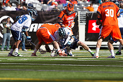 10 April 2010: North Carolina Tar Heels midfielder Michael Burns (26) during a 7-5 loss to the Virginia Cavaliers at the New Meadowlands Stadium in the Meadowlands, NJ.