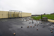 26/01/2016 Storms town up by the sea in Salthill as Storm Jonas hits the West coast. Photo:Andrew Downes,