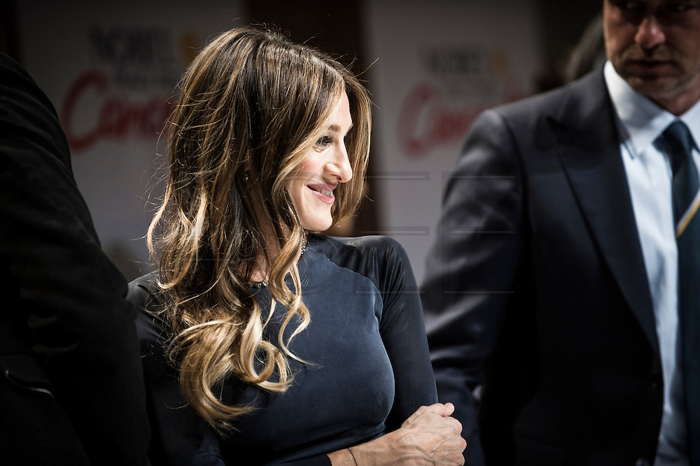 Actor and celebrity Sarah Jessica Parker during a press conference for the Nobel Peace Prize concert in Oslo. Parker is the host for the concert along with Gerard Butler.