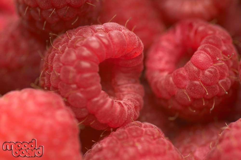 Raspberries, close-up
