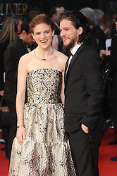 Kit Harington and Rose Leslie attend The Olivier Awards 2016 at the Royal Opera House in London. 3rd April 2016. EXPA Pictures © 2016, PhotoCredit: EXPA/ Photoshot/ Paul Treadway<br /> <br /> *****ATTENTION - for AUT, SLO, CRO, SRB, BIH, MAZ, SUI only*****