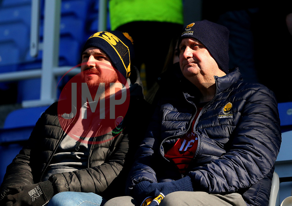Worcester Warriors fans at London Irish - Mandatory by-line: Robbie Stephenson/JMP - 25/02/2018 - RUGBY - Madejski Stadium - Reading, England - London Irish v Worcester Warriors  - Aviva Premiership
