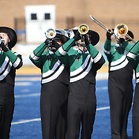 Mooreville High School performed Saturday at the marching band competition held at Tupelo High School