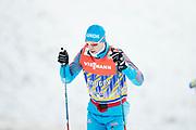 DAVOS, SCHWEIZ - 2016-12-09: Sergej Ustiugov under tr&auml;ning inf&ouml;r Viessmann FIS Cross Country World Cup den 9 december, 2016 i Davos, Schweiz. Foto: Nils Petter Nilsson/Ombrello<br /> ***BETALBILD***