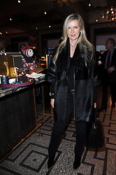 AMANDA WAKELEY at a party to celebrate the 1st anniversary of Gift-Library.com held at Bob Bob Ricard, 1 Upper James Street, London on 19th November 2009.