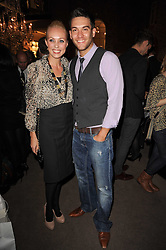 CAMILLA DALLERUP and KEVIN SACRE at a party to celebrate the publication of Inheritance by Tara Palmer-Tomkinson at Asprey, 167 New Bond Street, London on 28th September 2010.