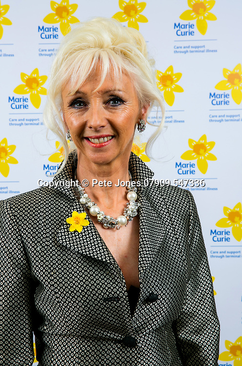 Debbie McGee - Marie Curie;<br /> Builders Quiz Night 2017;<br /> The Brewery, Chiswell St, London;<br /> 11th May 2017<br /> <br /> &copy; Pete Jones<br /> pete@pjproductions.co.uk
