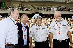 13.11.2011, Yas-Marina-Circuit, Abu Dhabi, UAE, Grosser Preis von Abu Dhabi, im Bild Norbert Haug (GER), Mercedes, Motorsport chief - Dr. Dieter Zetsche (GER), Chairman of Daimler  // during the Formula One Championships 2011 Large price of Abu Dhabi held at the Yas-Marina-Circuit, 2011/11/13. EXPA Pictures © 2011, PhotoCredit: EXPA/ nph/ Dieter Mathis..***** ATTENTION - OUT OF GER, CRO *****