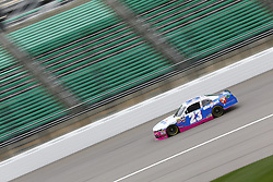 October 19, 2018 - Kansas City, Kansas, United States of America - Spencer Gallagher (23) takes to the track to practice for the Kansas Lottery 300 at Kansas Speedway in Kansas City, Kansas. (Credit Image: © Justin R. Noe Asp Inc/ASP via ZUMA Wire)